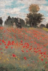 "PGC Les Coquelicots (Claude Monet) Greeting Card - 4 3/4"" x 6 3/4"""
