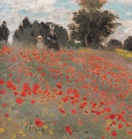 "Les Coquelicots (Claude Monet) Greeting Card - 4 3/4"" x 6 3/4"""