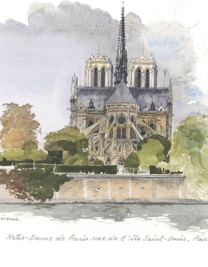"PGC Notre-Dame of Paris Greeting Card - 6"" x 6"""