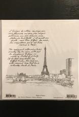 """PGC La Tour Eiffel Vue du Champ de Mars II Greeting Card - 6"""" x 6"""""""