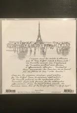 """La Tour Eiffel Vue Des Toits de la Rue Greuze Greeting Card - 6"""" x 6"""""""