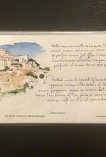 """PGC Abbaye de Senanque Greeting Card - 8 1/4"""" x 4 1/4"""""""