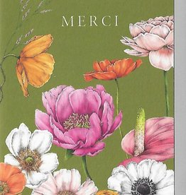 PGC Merci Flowers Greeting Card