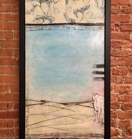 "Saddle Up - Holly Manneck Original. 28"""" x 54"""
