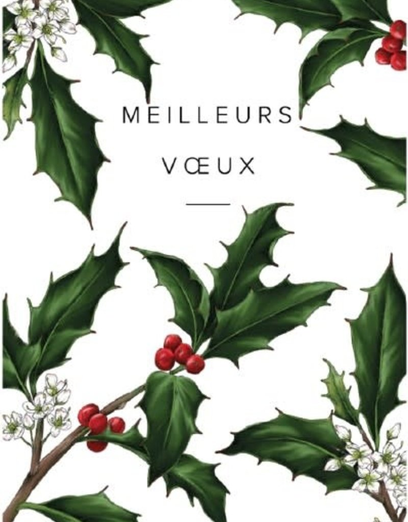 """PGC Meilleurs Voeux (Best Wishes) Greeting Card - 4 1/4"""" x 6"""""""