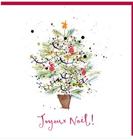 "PGC Joyeux Noel Greeting Card - 6"" x 6'"