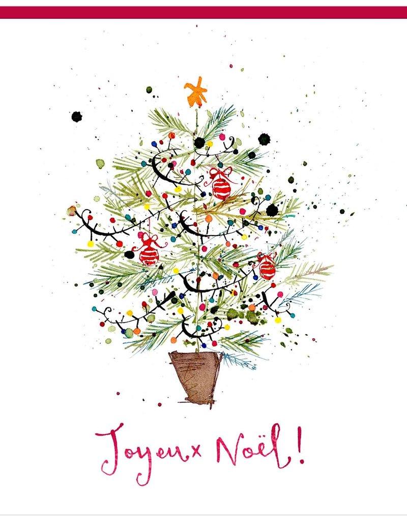 "PGC Joyeux Noel Greeting Card - 6"" x 6'"