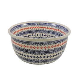 Polish Pottery Large Bowl -  Aurora