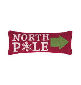 "Pillow - Christmas at the North Pole - 26"" Oblong"