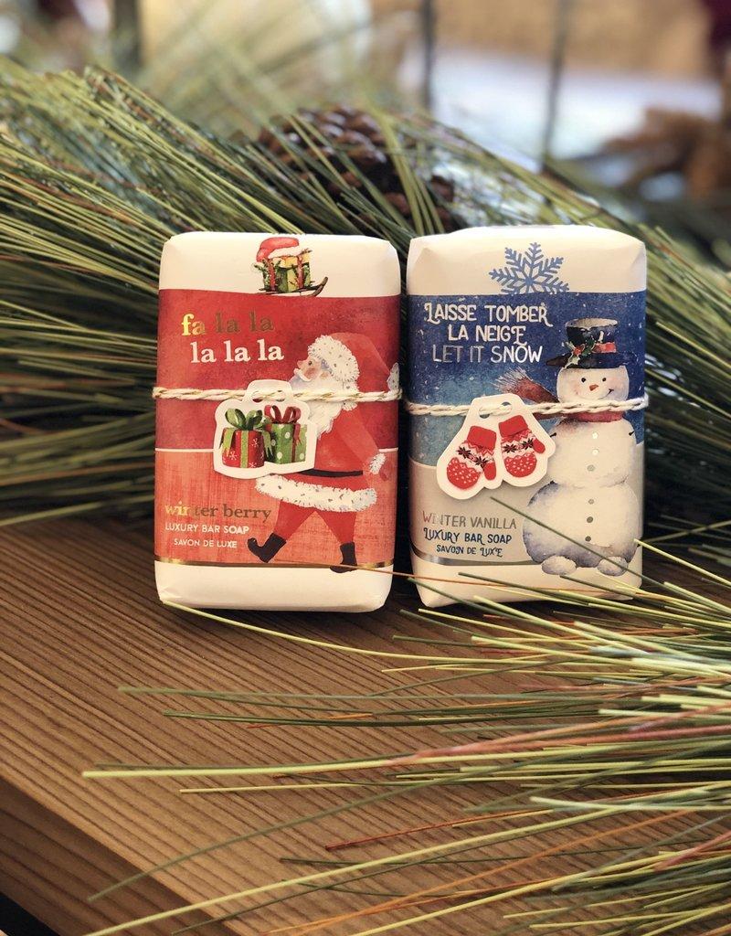 Winter Vanilla Soap - Let it Snow - Les Sentiments