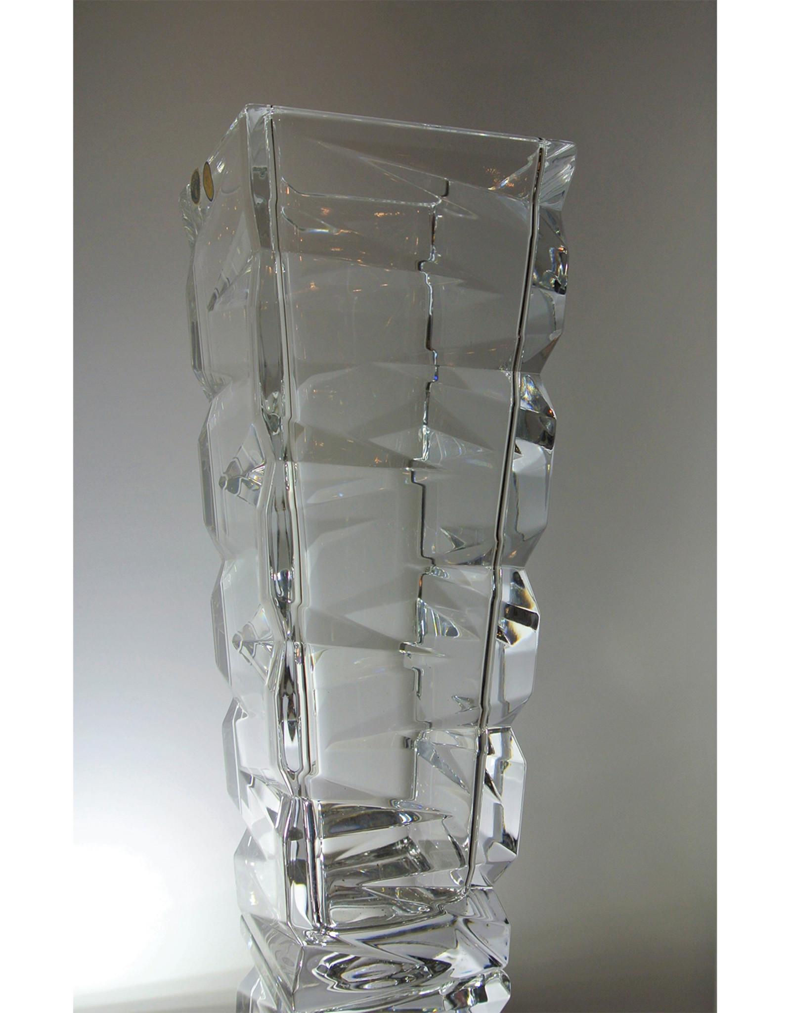 Bohemia Crystal - Vase - Large - Cut