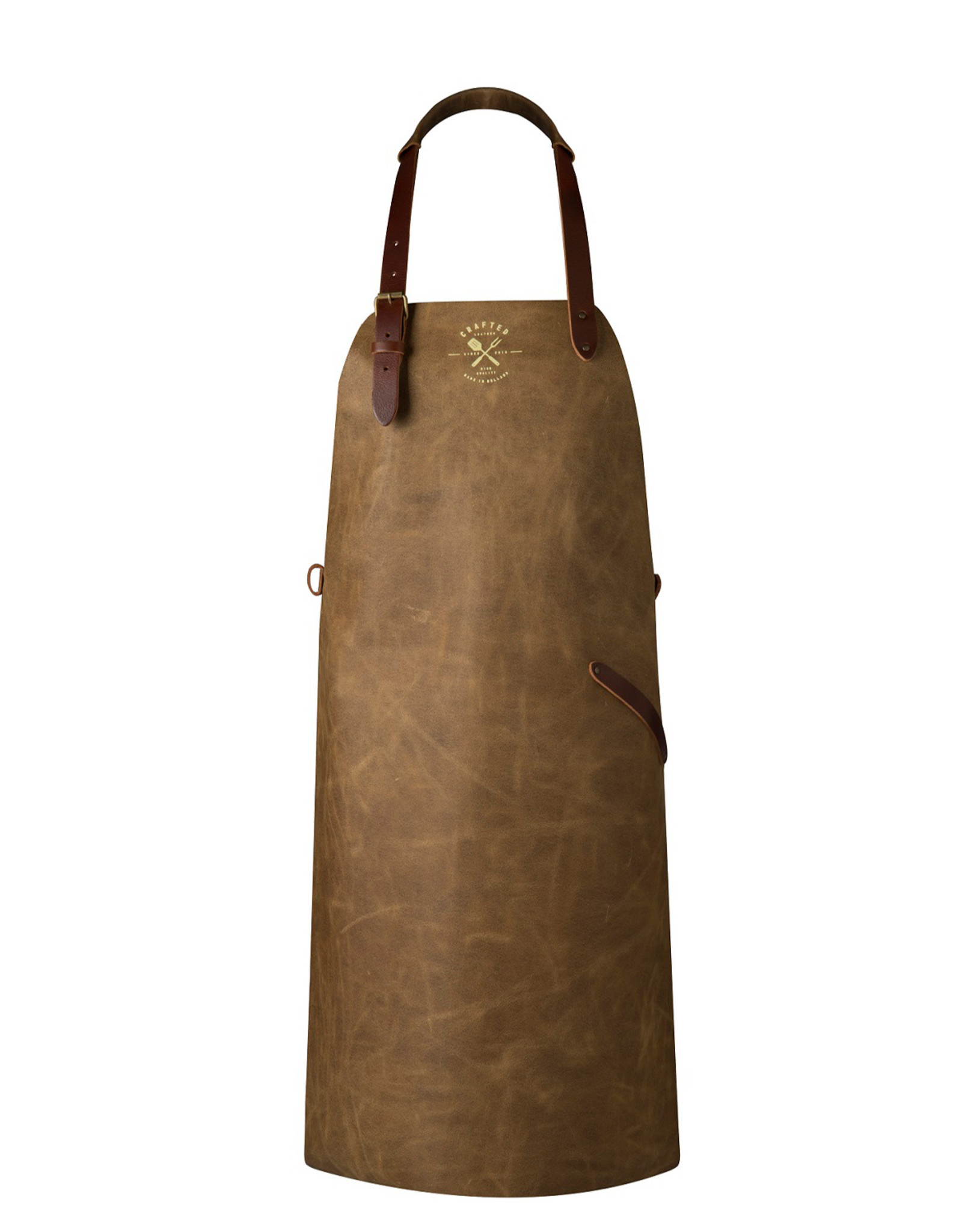 CL By European Splendor Sand - Crafted Vintage Leather Apron