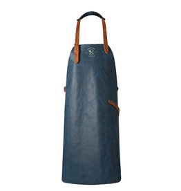 CL By European Splendor Blue - Crafted Vintage Leather Apron