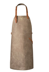 Gray - Crafted Vintage Leather Apron