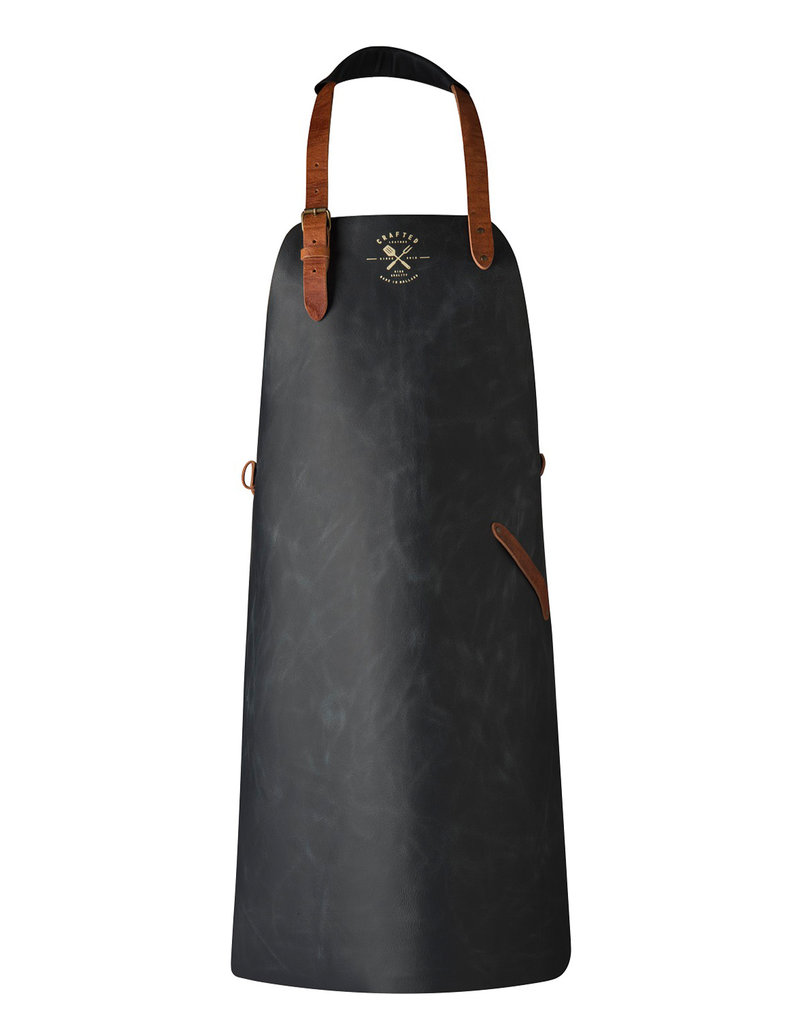 CL By European Splendor Black - Crafted Vintage Leather Apron