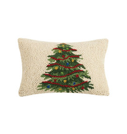 Christmas Tree Hook Pillow - 8' X 12""