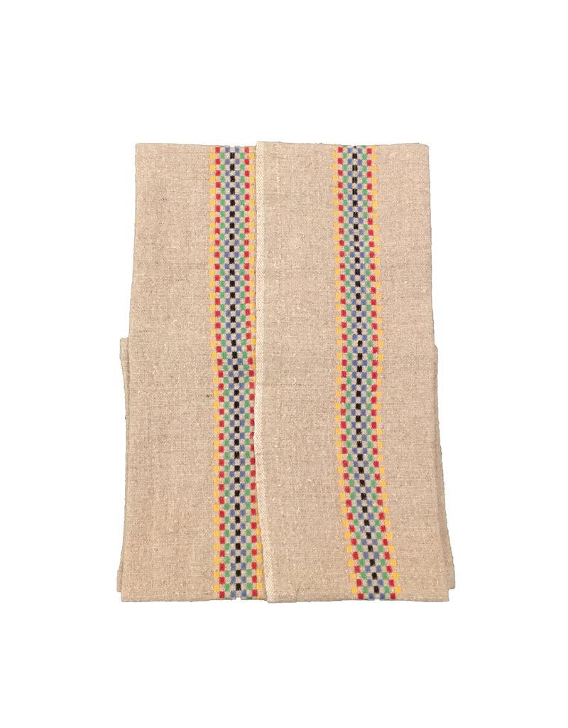 Charvet Editions -Bistro Towel -  Multico/Natural