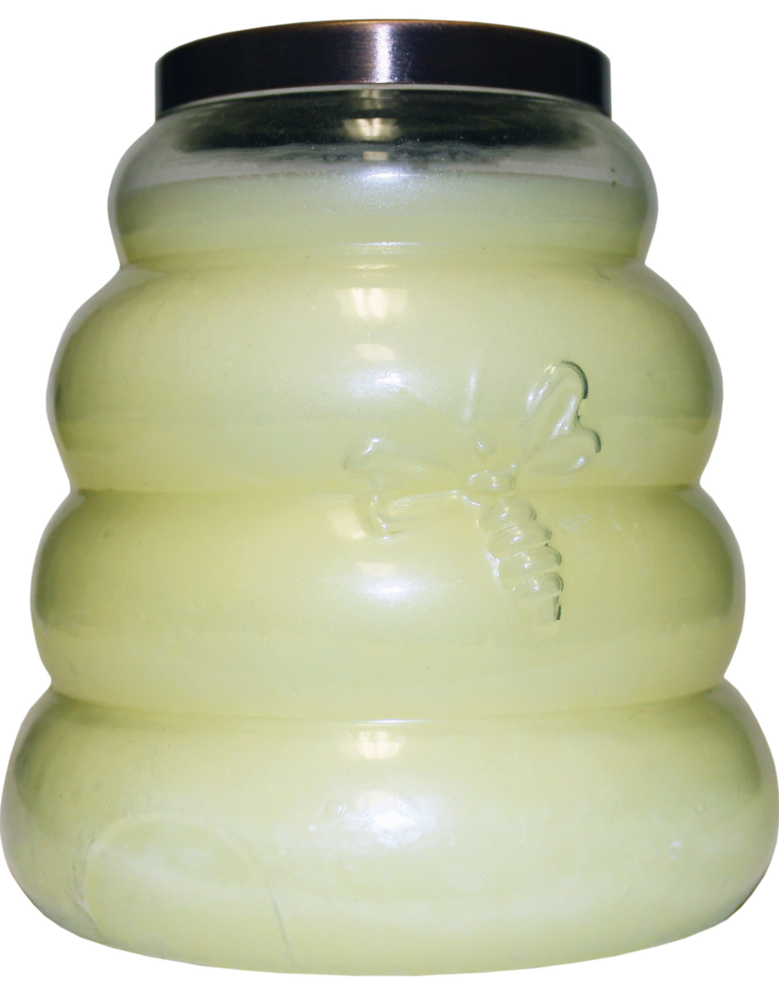 Keepers of the Light Candle -  Honey Apple  - Large Beehive - Copper Lid