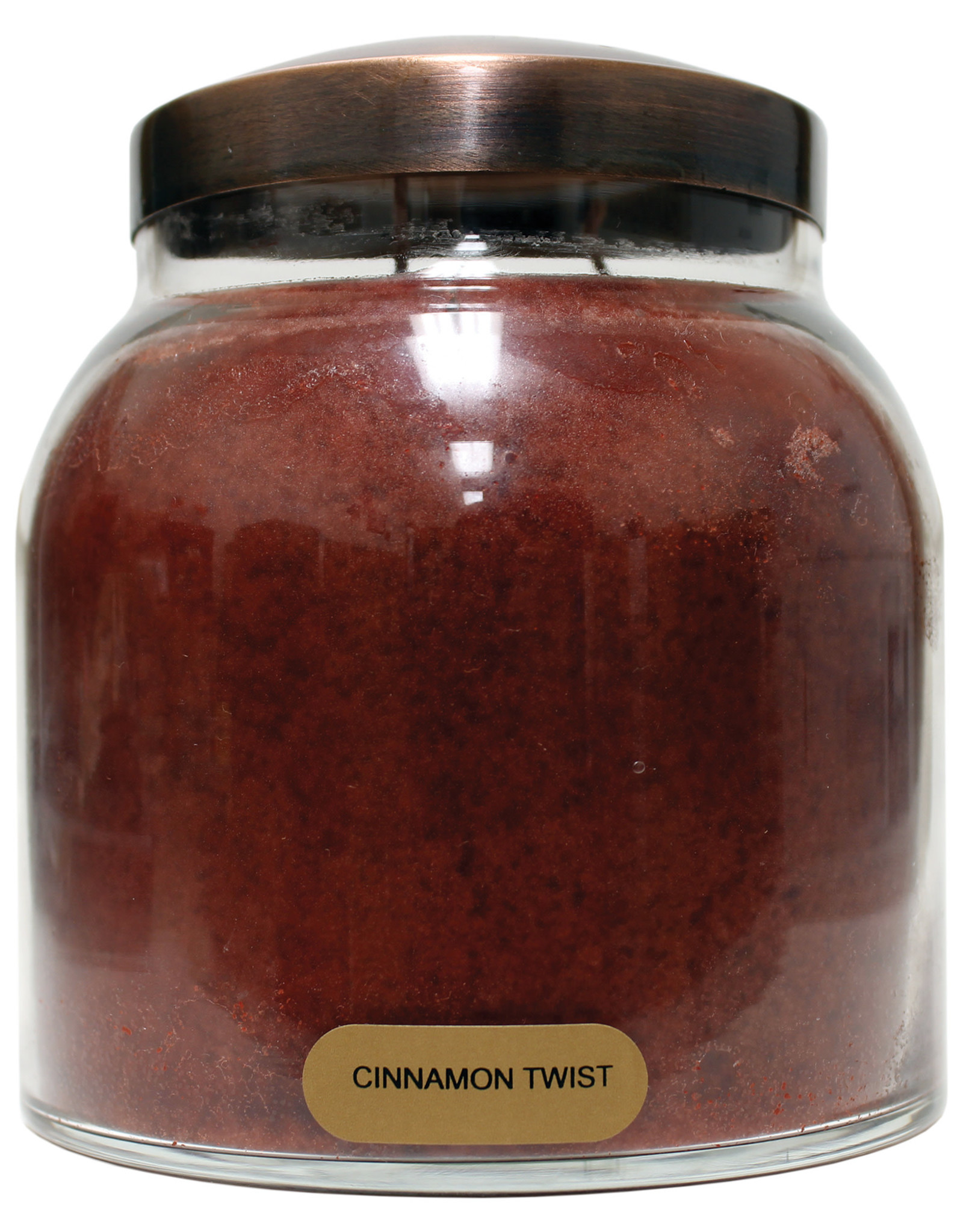 Keepers of the Light Candle - Cinnamon Twist - Papa 34 oz. - Copper Lid