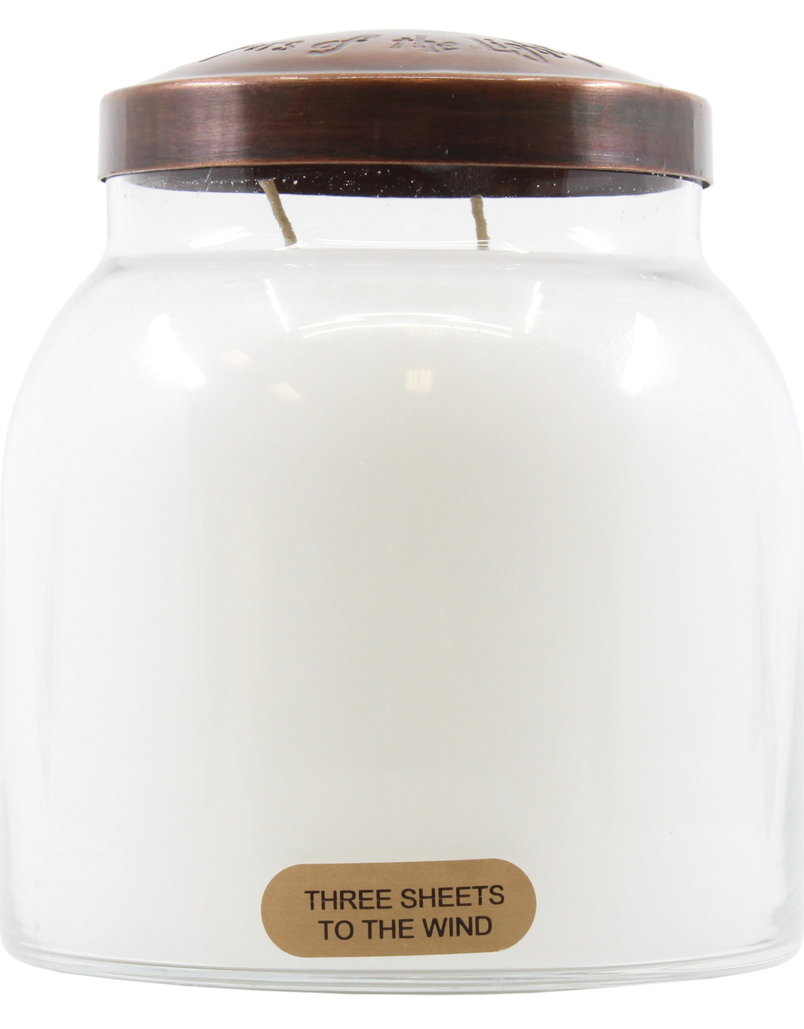 Keepers of the LIght Candle - 3 Sheets to the Wind - Papa 34 oz. - Copper Lid