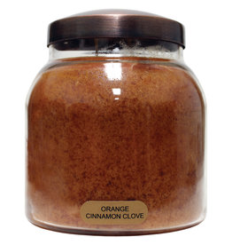 Keepers of the Light Candle - Orange Cinnamon  Clove - Papa - 34 oz. - Copper Lid