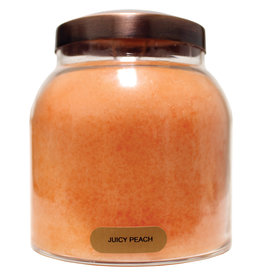 Keepers of the Light Candle - Juicy Peach - Papa 34 oz. - Copper Lid
