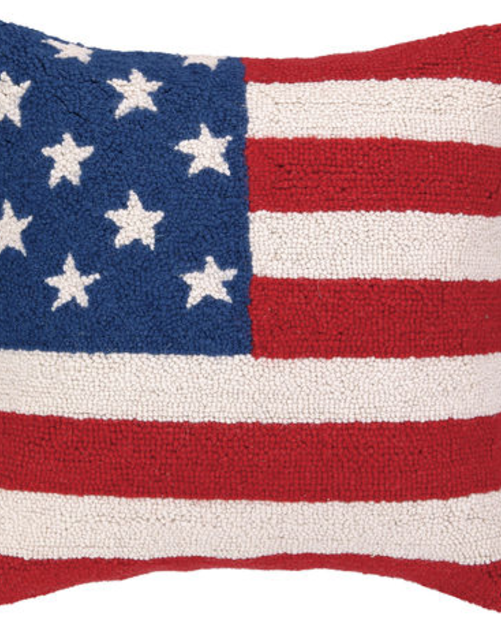 """American Flag Red White & Blue - 18"""" x 18"""""""