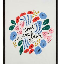 """Tout Est Bien Kitchen Towel - 18"""" x 25"""""""