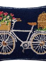 """Spring Bee Bike Hook Pillow - 16"""" x 20"""""""