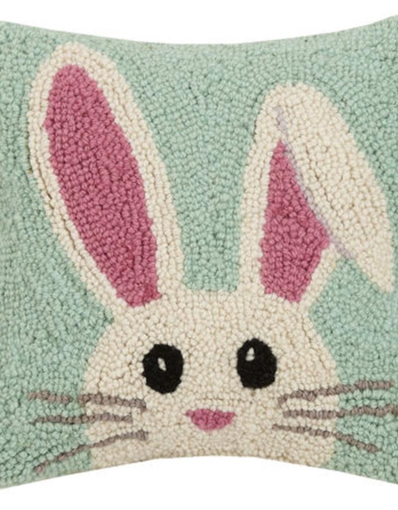 """Hello Easter Hook Pillow - 10"""" x 10"""""""