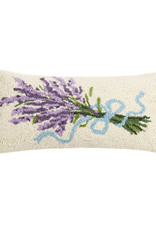 "Lavender Hook Pillow - 9"" x 16"""
