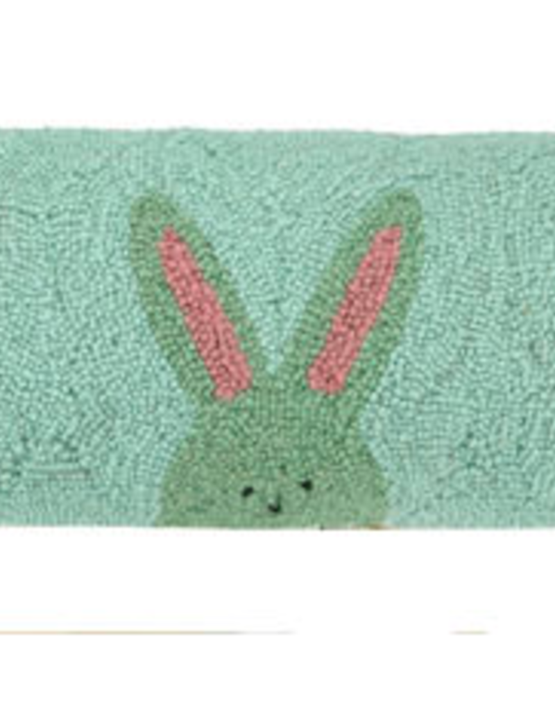"Three Peeps Bunnies Hook Pillow - 8"" x 24'"