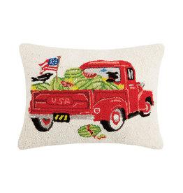 """Wagon Watermelons Hook Pillow - 16"""" x 20"""""""