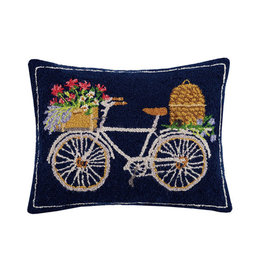 "Spring Bee Bike Hook Pillow - 16"" x 20"""