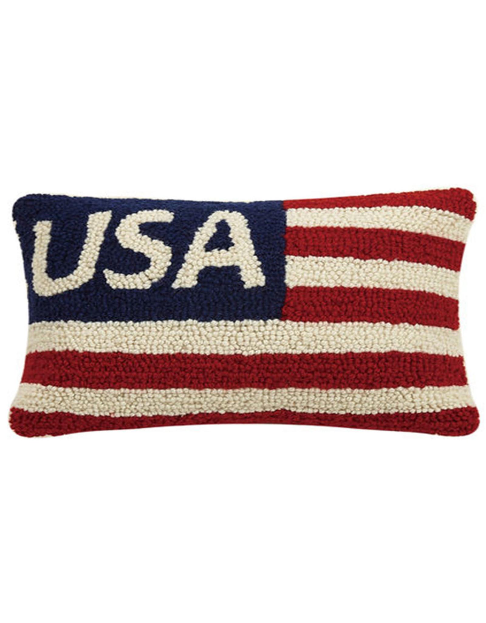 """USA Hook Pillow - 8"""" x 12"""""""