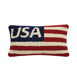 "USA Hook Pillow - 8"" x 12"""