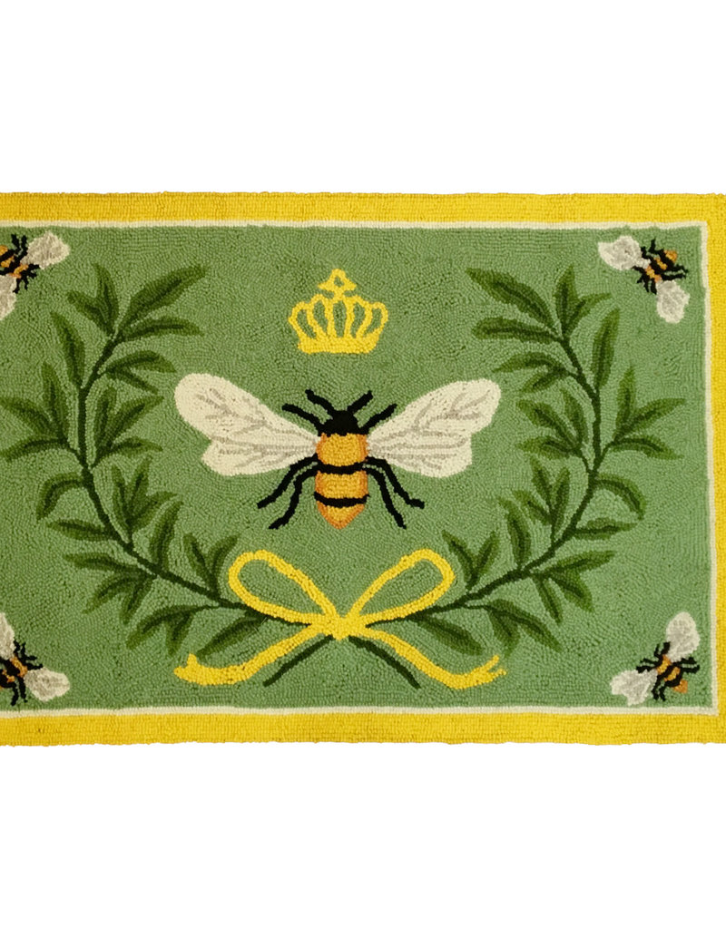 Queen Bee Hook Rug - 2' x 3'