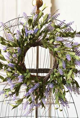 Alluring Lavender Wreath - 22