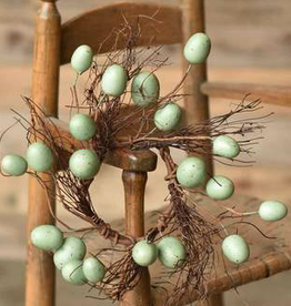 Nifty Nested Egg Candle Ring - 3.5""
