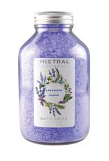 Mistral Bath Salts - Lavender - Bottle