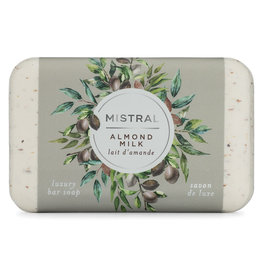 Mistral Classic French Soap - Almond Milk (Exfoliating Bar)