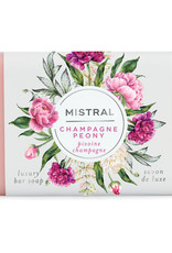 Champagne Peony 7 oz - Mistral  Classic Collection Soap