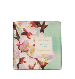 Apricot Blossom 3.14 oz - Mistral Exquisite Florals Soap Collection