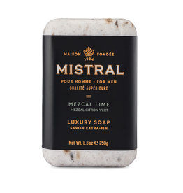 Mezcal Lime - Mistral Men's Collection Soap 8.8 oz