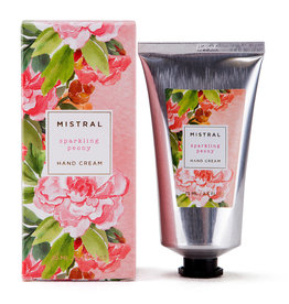 Sparkling Peony Hand Cream 2.5 oz. - Mistral Exquisite Florals  Collection