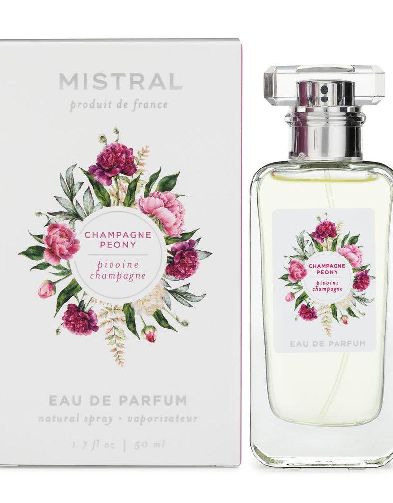 Champagne Peony Eau de Parfum 1.7 fl. oz - Mistral Signature Fragrance