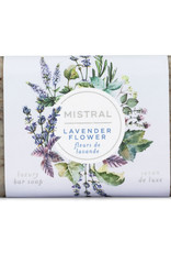 Lavender Flower 7 oz. - Mistral Classic French Soap Collection