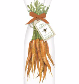 Market Carrots Towel Set