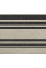 Spicher & Company Black & White Vinyl Rug - 20 x 30