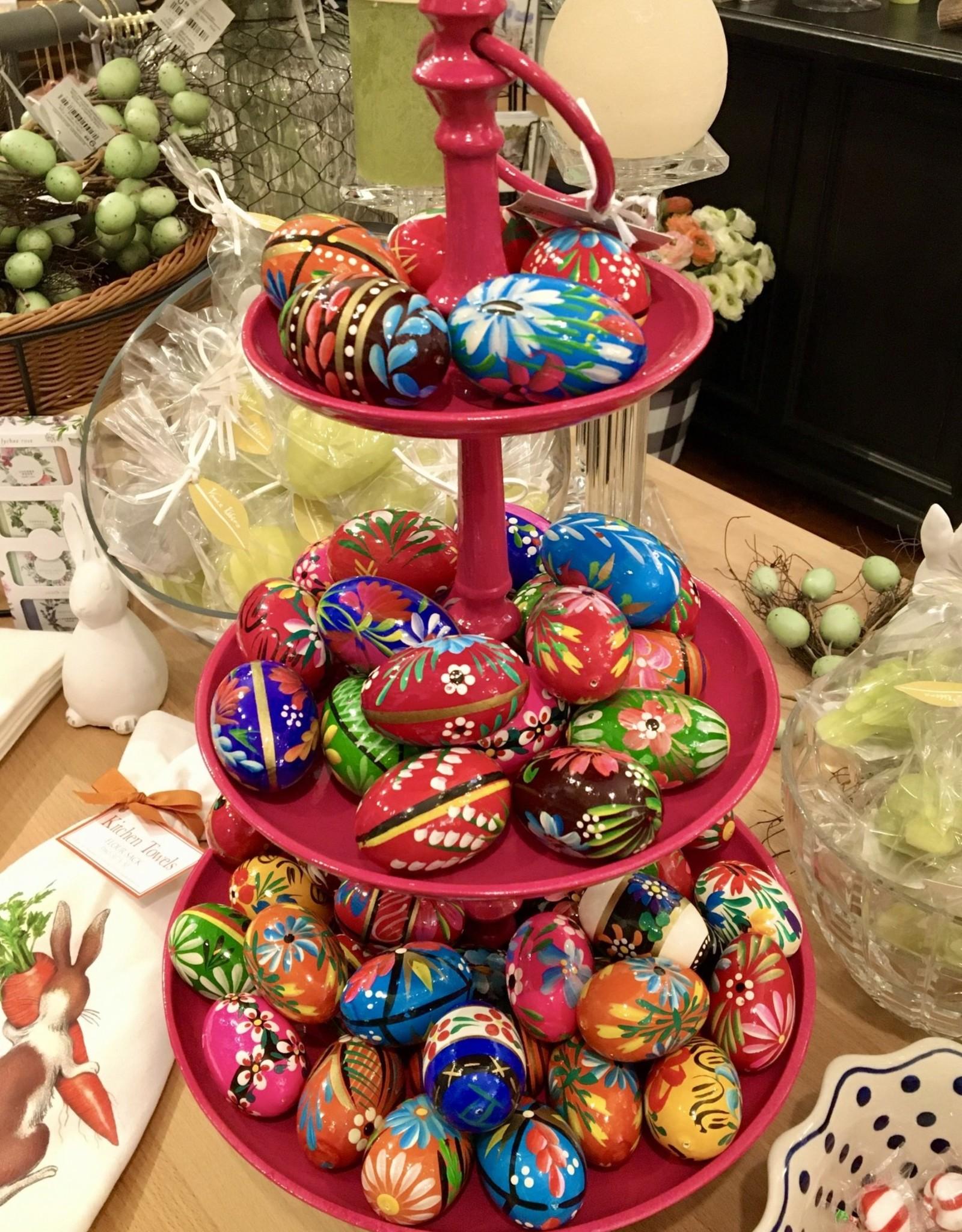 Polish Pisanki (wooden Easter eggs)